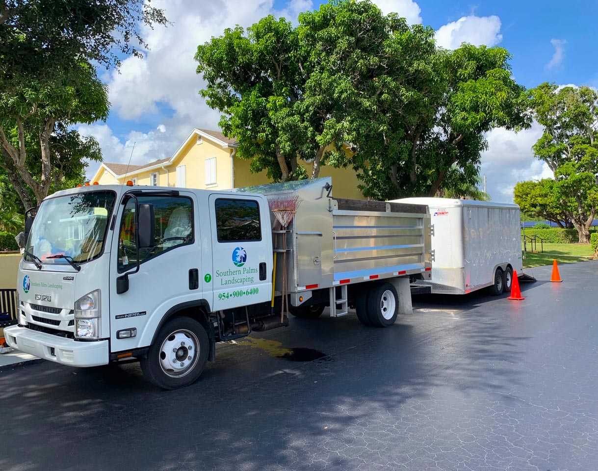 Commercial landscaping and residential landscaping in Palm Beach and Broward counties